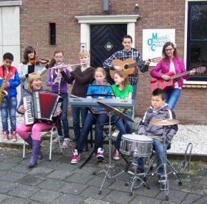 Leerzame muziekles in Rotterdam